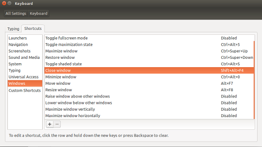 How to disable some hotkeys in Ubuntu | Emin Mastizada