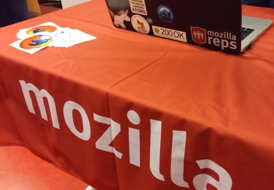 Mozilla SFLD2016 Stand, Photo by @aybuke_ozdemir